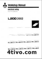Mitsubishi L200. Workshop Manual electronical wiring supplement.