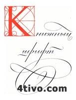 Книжный шрифт. (Большаков М.В., Гречихо Г.В., Шицгал А.Г.) 8.33 MB